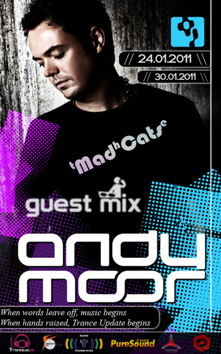 Trance Update Episode 79 GuestMix ANDY MOOR