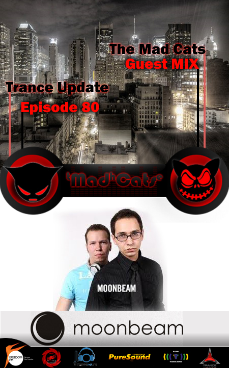 Trance Update Episode 80 GuestMix MOONBEAM